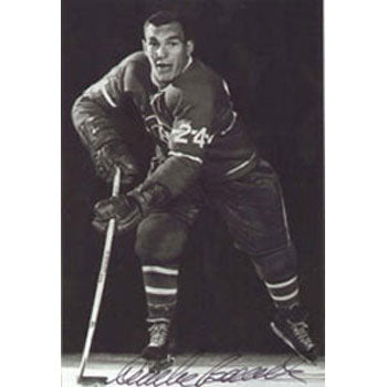 Andre Boudrias Montreal Canadiens Autographed 4x6 Photo. This item comes with a certificate of authenticity from Autograph-Sports. PSM-Powers Sports Memorabilia