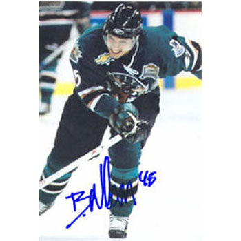 Brandon Nolan Manitoba Moose Autographed 4x6 Photo. This item comes with a certificate of authenticity from Autograph-Sports. PSM-Powers Sports Memorabilia
