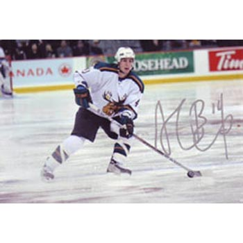 Alex Burrows Manitoba Moose Autographed 4x6 Photo. This item comes with a certificate of authenticity from Autograph-Sports. PSM-Powers Sports Memorabilia