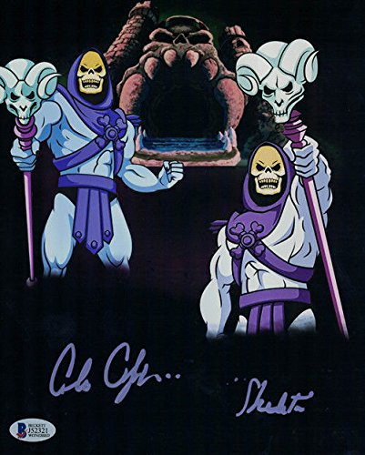 Alan Oppenheimer Autographed Skeletor 8x10 Photo Masters of the Universe Vertical BAS PSM-Powers Sports Memorabilia