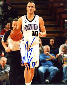 Sergio Rodriguez Autographed / Signed Sacramento Kings 8x10 Photo PSM-Powers Sports Memorabilia