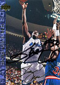 Shaquille O'Neal Autographed / Signed 1994 Upper Deck Card PSM-Powers Sports Memorabilia