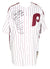 Pete Rose Signed Philadelphia Phillies Majestic Baseball Jersey 8x Insc. JSA ITP PSM-Powers Sports Memorabilia