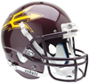 Arizona State Sun Devils Full XP Replica Football Helmet Schutt B Maroon B PSM-Powers Sports Memorabilia
