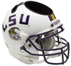 LSU Tigers Miniature Football Helmet Desk Caddy B White B PSM-Powers Sports Memorabilia