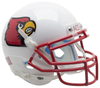 Louisville Cardinals Mini XP Authentic Helmet Schutt B Red Mask B PSM-Powers Sports Memorabilia