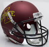 Iowa State Cyclones Full XP Replica Football Helmet Schutt B Matte Maroon B PSM-Powers Sports Memorabilia