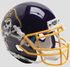 East Carolina Pirates Mini XP Authentic Helmet Schutt B Yellow Mask B PSM-Powers Sports Memorabilia