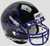 TCU Horned Frogs Authentic College XP Football Helmet Schutt B Black with Chrome Mask B PSM-Powers Sports Memorabilia
