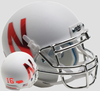 Nebraska Cornhuskers Mini XP Authentic Helmet Schutt B Silver Mask B PSM-Powers Sports Memorabilia