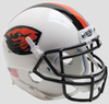 Oregon State Beavers Mini XP Authentic Helmet Schutt B Orange Beaver Stripe B PSM-Powers Sports Memorabilia