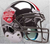 Ohio State Buckeyes 2014 National Champions Replica Football Helmet Schutt B Silver Chrome B PSM-Powers Sports Memorabilia