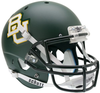 Baylor Bears Full XP Replica Football Helmet Schutt B Matte Green B PSM-Powers Sports Memorabilia