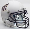 Washington Huskies Authentic College XP Football Helmet Schutt B Matte White B PSM-Powers Sports Memorabilia