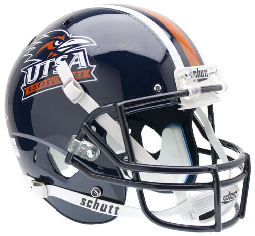UTSA Roadrunners Full XP Replica Football Helmet Schutt PSM-Powers Sports Memorabilia