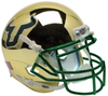 South Florida Bulls Full XP Replica Football Helmet Schutt B Chrome B PSM-Powers Sports Memorabilia
