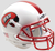 Western Kentucky Hilltoppers Mini XP Authentic Helmet Schutt B White with Chrome Mask B PSM-Powers Sports Memorabilia