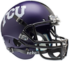 TCU Horned Frogs Full XP Replica Football Helmet Schutt B Matte B PSM-Powers Sports Memorabilia