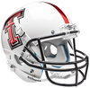 Texas Tech Red Raiders Full XP Replica Football Helmet Schutt B Whte Alt 5 B PSM-Powers Sports Memorabilia