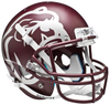 Mississippi State Bulldogs Full XP Replica Football Helmet Schutt B Maroon B PSM-Powers Sports Memorabilia