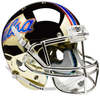Tulsa Golden Hurricane Full XP Replica Football Helmet Schutt B Chrome B PSM-Powers Sports Memorabilia
