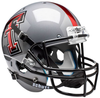 Texas Tech Red Raiders Full XP Replica Football Helmet Schutt B Gray B PSM-Powers Sports Memorabilia