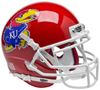 Kansas Jayhawks Mini XP Authentic Helmet Schutt B Scarlet Red B PSM-Powers Sports Memorabilia