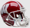 Wisconsin Badgers Full XP Replica Football Helmet Schutt B Scarlet B PSM-Powers Sports Memorabilia
