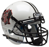 Texas Tech Red Raiders Authentic College XP Football Helmet Schutt B Pride White B PSM-Powers Sports Memorabilia