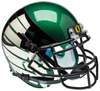 Oregon Ducks Mini XP Authentic Helmet Schutt B Titanium Thunder Green B PSM-Powers Sports Memorabilia