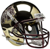 Mississippi State Bulldogs Full XP Replica Football Helmet Schutt B Chrome Gold B PSM-Powers Sports Memorabilia