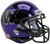 Washington Huskies Mini XP Authentic Helmet Schutt B Chrome Purple B PSM-Powers Sports Memorabilia