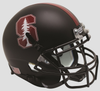 Stanford Cardinal Full XP Replica Football Helmet Schutt B Matte Black Tree B PSM-Powers Sports Memorabilia