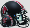 Ball State Cardinals Mini XP Authentic Helmet Schutt B Matte Black B PSM-Powers Sports Memorabilia