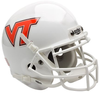 Virginia Tech Hokies Mini Authentic Helmet Schutt B White B PSM-Powers Sports Memorabilia