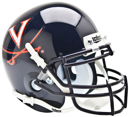 Virginia Cavaliers Mini XP Authentic Helmet Schutt PSM-Powers Sports Memorabilia