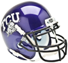 TCU Horned Frogs Mini XP Authentic Helmet Schutt PSM-Powers Sports Memorabilia