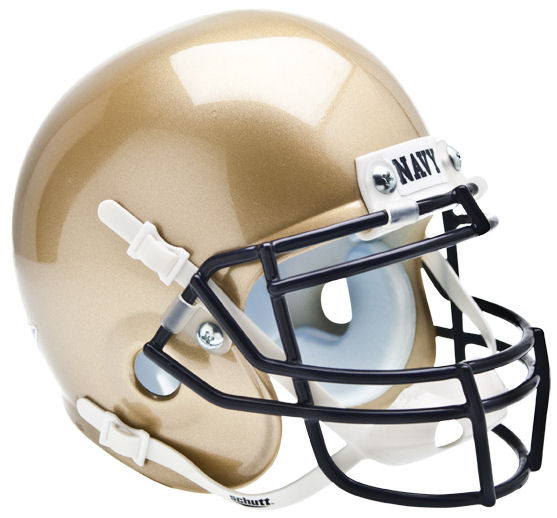 Navy Midshipmen Mini XP Authentic Helmet Schutt PSM-Powers Sports Memorabilia