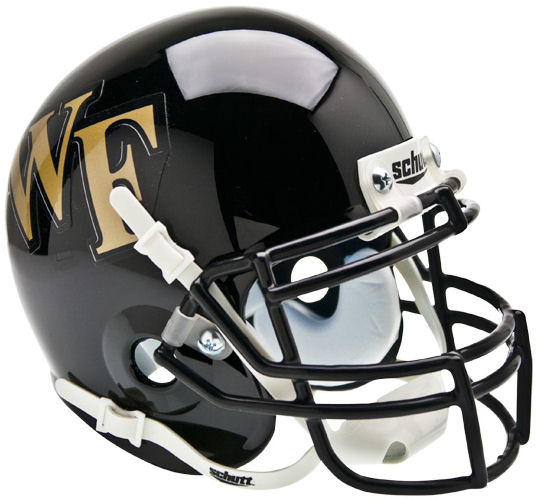 Wake Forest Demon Deacons Mini XP Authentic Helmet Schutt PSM-Powers Sports Memorabilia