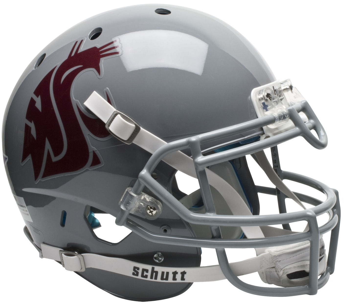 Washington State Cougars Authentic College XP Football Helmet Schutt PSM-Powers Sports Memorabilia