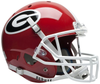 Georgia Bulldogs Full XP Replica Football Helmet Schutt PSM-Powers Sports Memorabilia