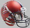 Illinois Fighting Illini Full XP Replica Football Helmet Schutt B Satin Orange Flag Decal B PSM-Powers Sports Memorabilia