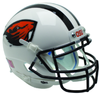 Oregon State Beavers Full XP Replica Football Helmet Schutt B White Beaver B PSM-Powers Sports Memorabilia