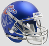 Memphis Tigers Full XP Replica Football Helmet Schutt B Satin with Chrome Mask B PSM-Powers Sports Memorabilia