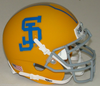 San Jose State Spartans Full XP Replica Football Helmet Schutt B Yellow B PSM-Powers Sports Memorabilia