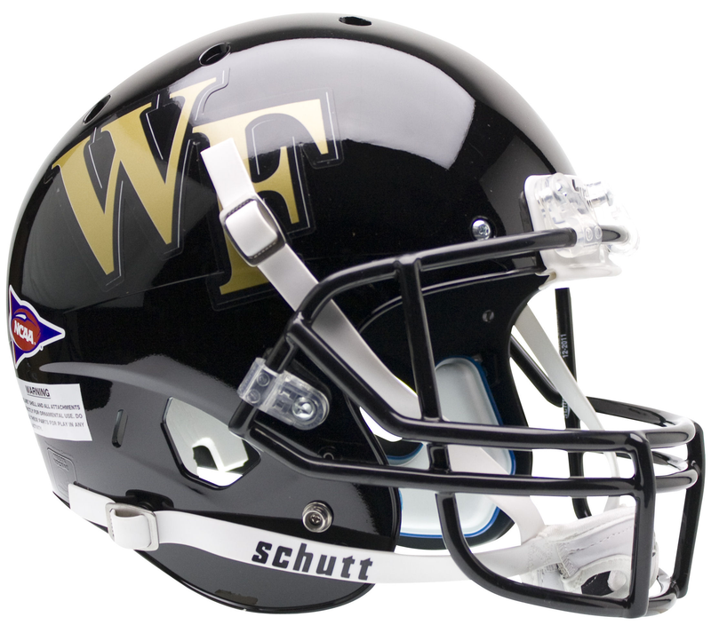 Wake Forest Demon Deacons Full XP Replica Football Helmet Schutt PSM-Powers Sports Memorabilia
