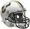 South Florida Bulls Full XP Replica Football Helmet Schutt B White B PSM-Powers Sports Memorabilia