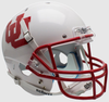 Utah Utes Full XP Replica Football Helmet Schutt <B>White UU<B> PSM-Powers Sports Memorabilia