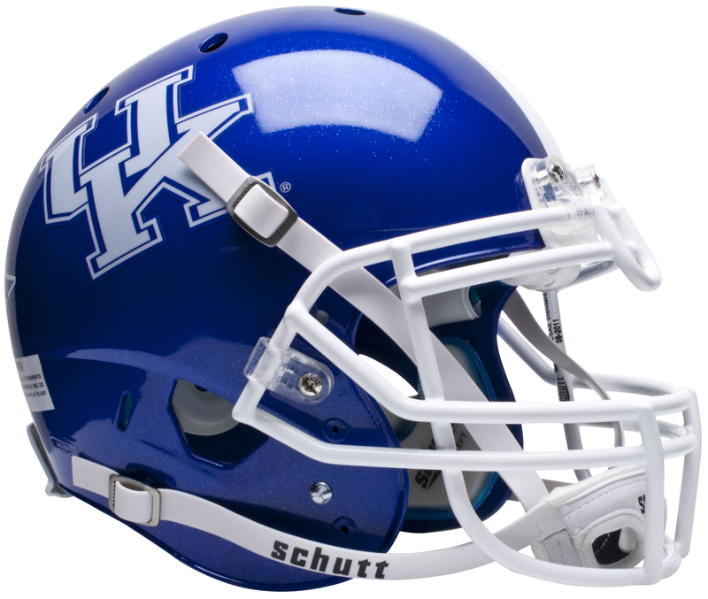 Kentucky Wildcats Authentic College XP Football Helmet Schutt PSM-Powers Sports Memorabilia