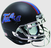 Tulsa Golden Hurricane Full XP Replica Football Helmet Schutt B Matte Black Chrome Mask B PSM-Powers Sports Memorabilia